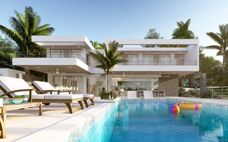 Villa Seashell Casa Linda