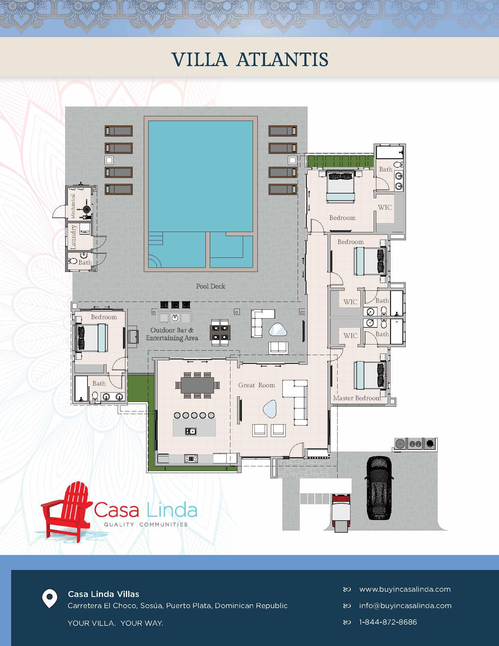 Villa Atlantis, Casa Linda Villas