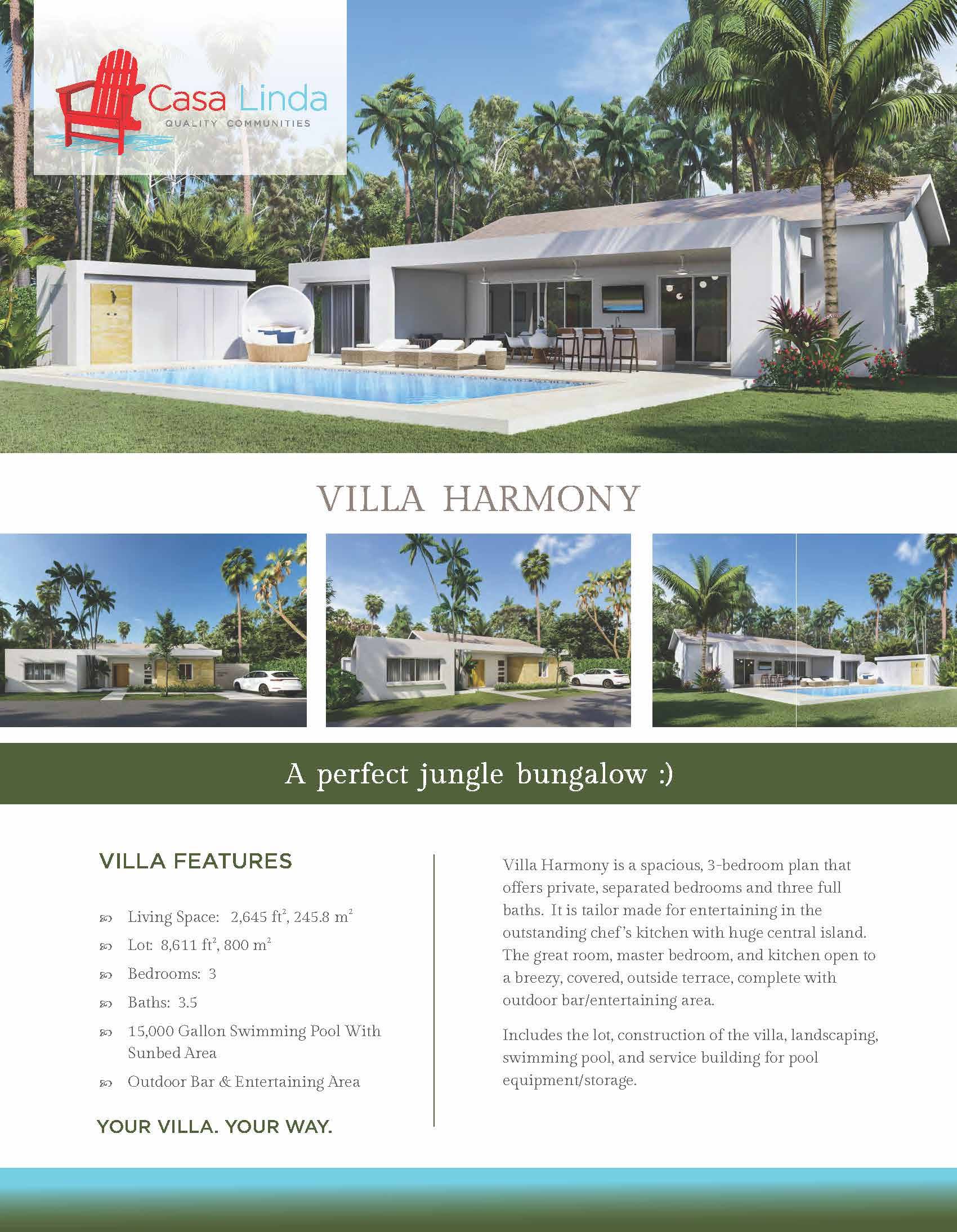 Villa Harmony Casa Linda Villas