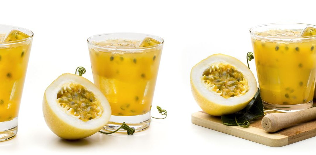 Passion Fruit Juice – Straight From the Backyard!