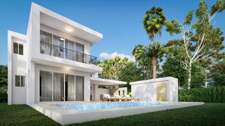 villa  bluepearl, casa linda villas, dominican republic home for sale