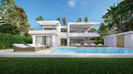 Villa Seashell, casa linda villas, dominican republic homes for sale