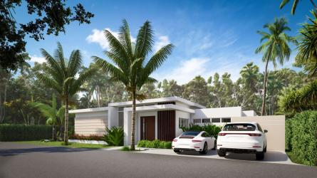 villa atlantis casa linda villas, dominican republic homes for sale